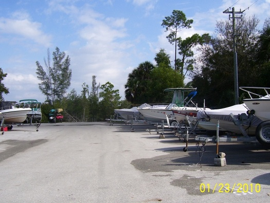 Boat Storage Area